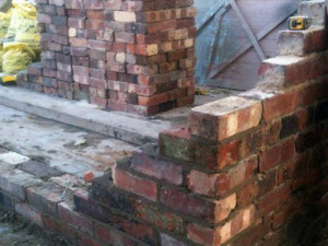 Brick Wall Urmston