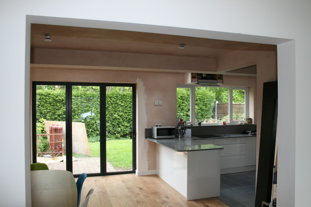 The Butlers of Bramhall love their new light and airy kitchen, dining space